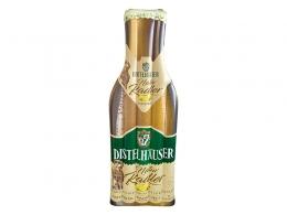 Luftmatratze in Bierflaschenform